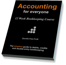 Bookkeeping Courses Accounting for Everyone Book Cover Image