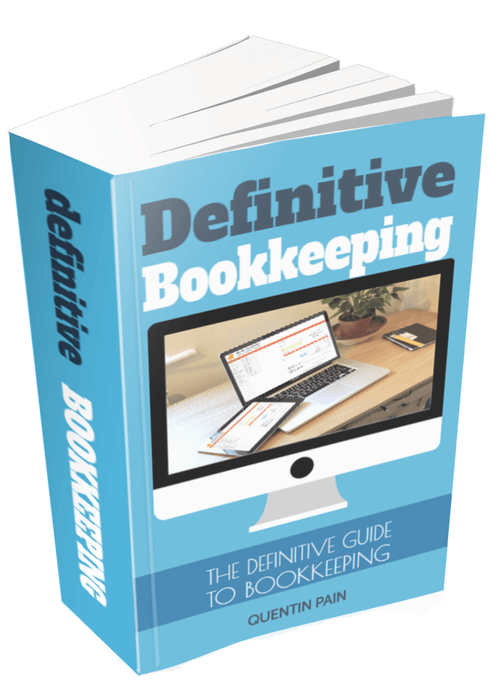 The Definitive Guide To Bookkeeping Book Cover