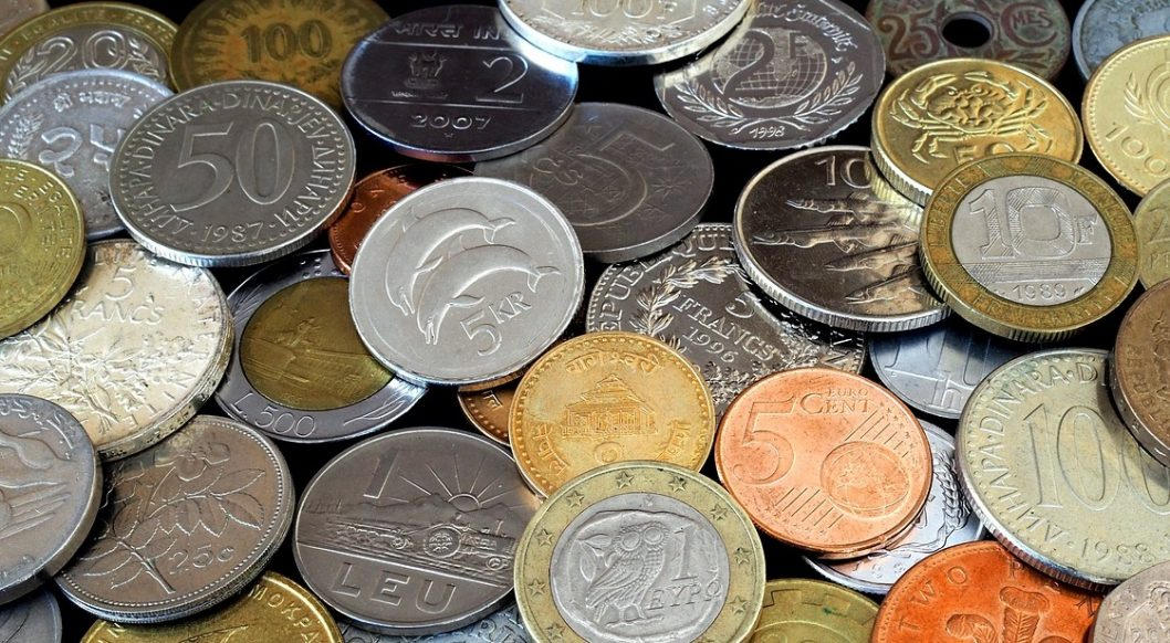 Image of coins for club treasurer article